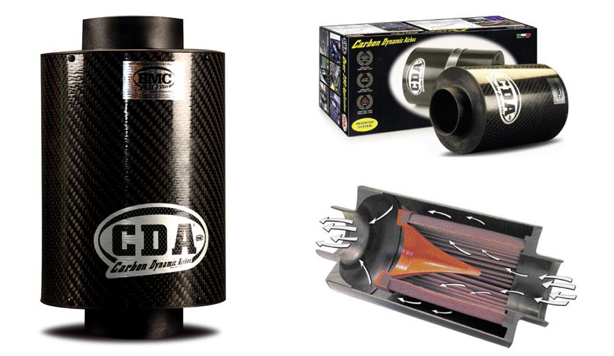 Carbon Dynamic Airbox Universel BMC CDA85-150 moteur de plus de 1600cc